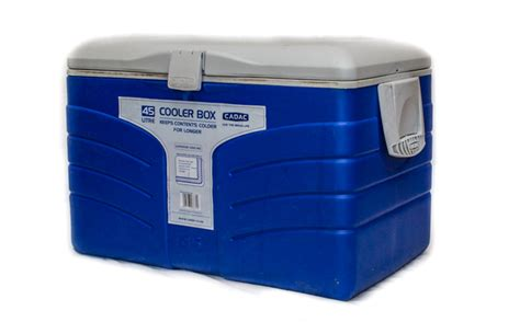 fan with ice compartment cooler box ice test gear reviews getaway magazine