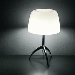 Lampe Variateur De Lumiere : lampe a poser lumiere grande variateur aluminium ~ Dailycaller-alerts.com Idées de Décoration