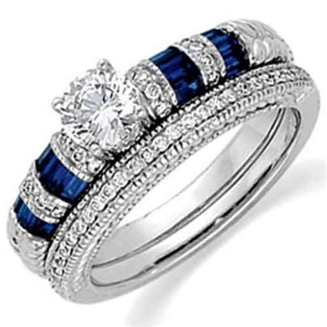 mixentry blue diamond wedding rings design