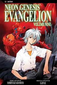 Neon Genesis Evangelion Vol 9 VIZ MANGA line Manga