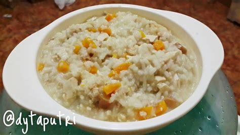Resep mpasi risotto udang sayur 9m ala mama anggita. Resep MPASI : Chicken Tofu Mushroom Risotto (10m) (With ...