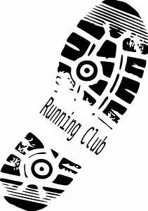 running club clip at clker vector clip
