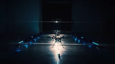 drone lights at night singletrack magazine no need for bike lights just use a