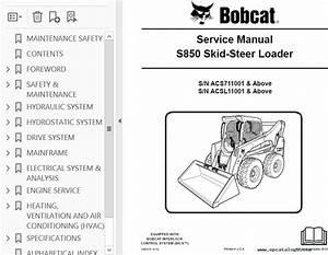 Bobcat S850 Skid