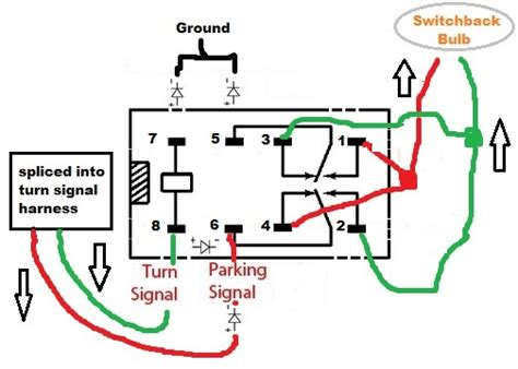 8 Pin Relay Configuration Diagram by 3157 194 Switchback Led Bulbs And Logo Courtesy Lights