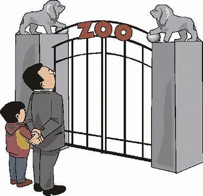 Zoo Clipart Clip Visit Gate Entrance Animated