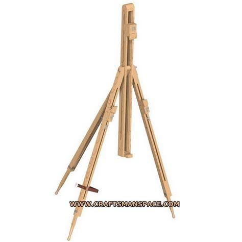 wood tripod plans   complete plan folding tripod easel plan   mb  pages