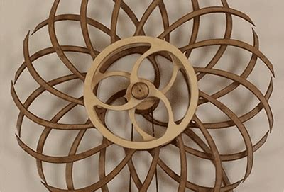 propelled kinetic wood colossal