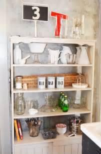 Open Kitchen Shelves for Storage
