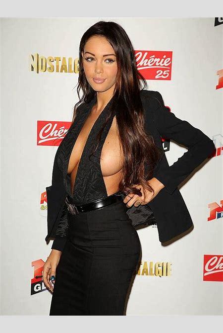Nabilla Benattia Side Boob And Some Nipple | celebrity-slips.com