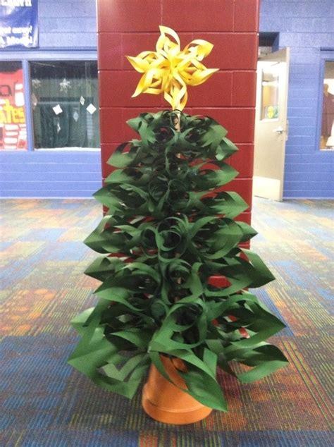 folded paper tree  christmas tree papercraft