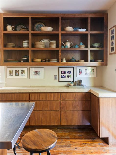 open style kitchen cabinets vintage kitchen decorating pictures ideas from hgtv hgtv 3751