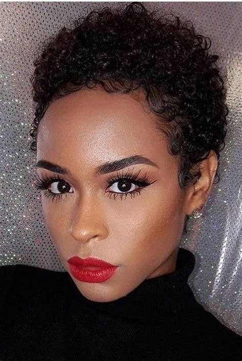 ideas  afro short hairstyles