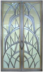 Custom Made Art Deco Doors By Eric David Laxman