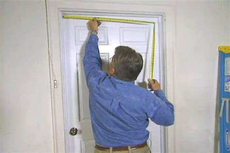 install weatherstripping   entry door