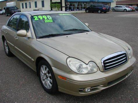 2002 Hyundai Sonata For Sale by 2002 Hyundai Sonata For Sale In White Lake Mn