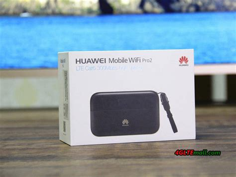 huawei  mobile wifi pro  lte cat pocket router