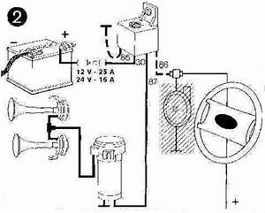 do i need another relay for an aftermarket horn With electric horn relay wiring