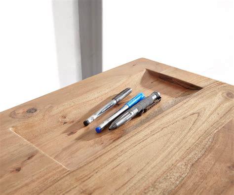 Schreibtisch Holz Natur by Schreibtisch Live Edge 137 Cm Akazie Natur Baumkante M 246 Bel