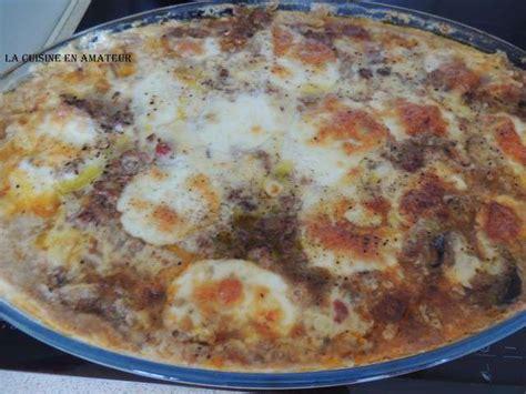 recettes de b 233 chamel et viande hach 233 e