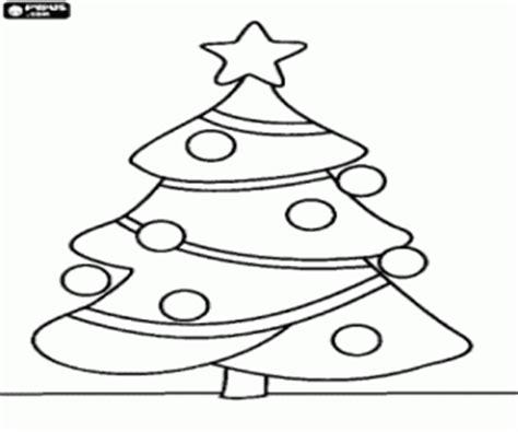 colorear 193 rbol de navidad con adornos