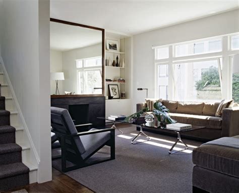 spectacular open space living room designs how to use mirrors to effectively open up your space