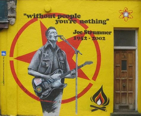 Joe Strummer Mural by Joe Strummer Mural Address Point Of