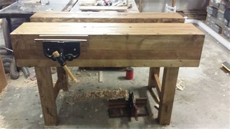 finished   paul sellers workbench  rustyhacksaw