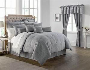 carlisle, platinum, by, waterford, luxury, bedding