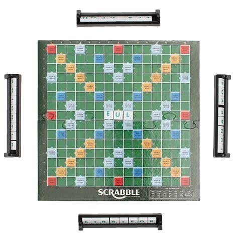 scrabble board brand crossword letters tiles for family friends junior travel