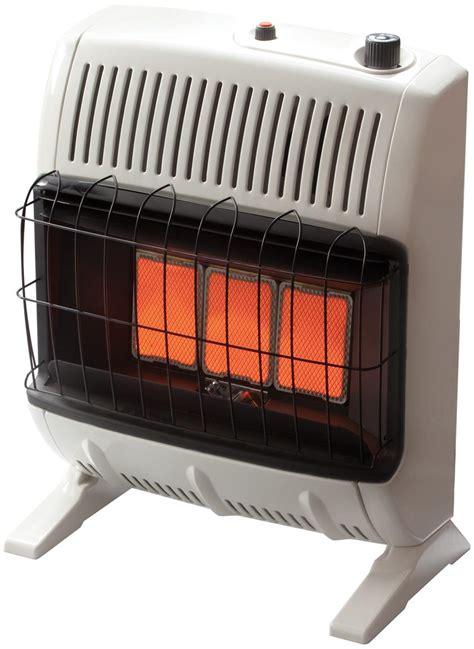 gas garage heater reviews mr heater 174 20 000 btu vent free gas heater 193365