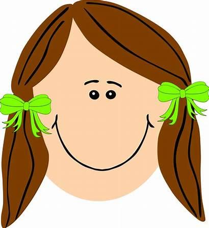 Hair Clipart Brown Cartoon Leaf Clip Cliparts