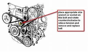 How Do I Change The Serpentine Belt On My 2006 5 Kia