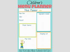 Collection of Printable children s daily planner