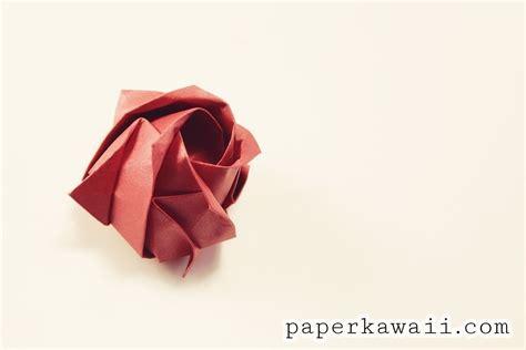 origami kawasaki rose     origami flower