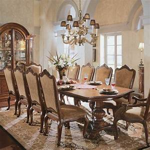 Buy villa cortina rectangular table dining room set by for Universal dining room furniture
