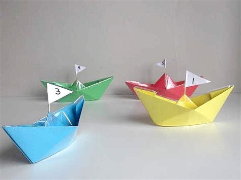 How To Make A Really Easy Paper Boat by Waterproof Paper Boat