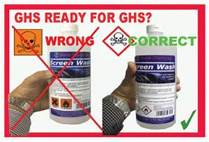chemicals and durable labels ghs clp bs5609 labels u With ghs bottle labels