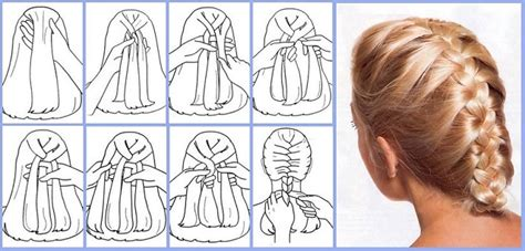 quickly  easily  french braid   hair