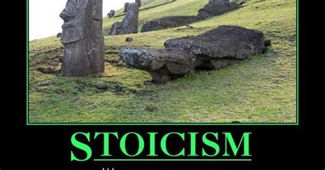 stoicism stand firm faceplant fall motivational poster