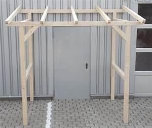 Vordach Hauseingang Holz Bauanleitung : vordach vorbau unterstand haust r berdachung holzvordach 1 5x3 m 150x300 cm ebay ~ A.2002-acura-tl-radio.info Haus und Dekorationen
