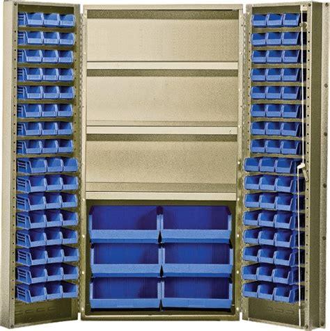 plastic kitchen cabinet 36 quot secure storage cabinet plastic bins shelves 1538