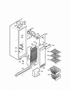 Lg Refrigerator Freezer Door Parts