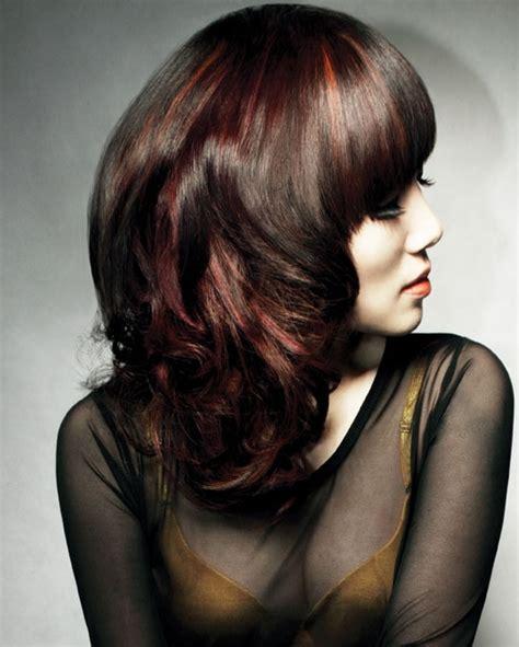 Hair Color On Black Hair by Top Hair Color Trends Ideas