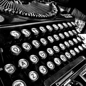 Items similar to Antique Typewriter photograph, vintage ...