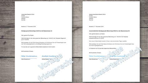 beispiel kündigungsschreiben wohnung k 252 ndigungsschreiben wohnung vorlage schweiz kostenlos