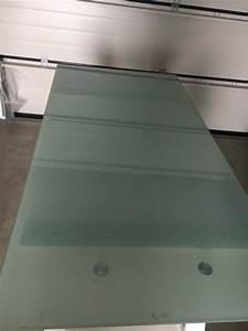 Ikea Schreibtisch Glasplatte : ikea schreibtisch galant glasplatte milchglas chrom beine in gr nwald b rom bel kaufen und ~ Watch28wear.com Haus und Dekorationen