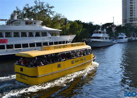 Taxi Boat Fort Lauderdale by Fort Lauderdale Water Taxi