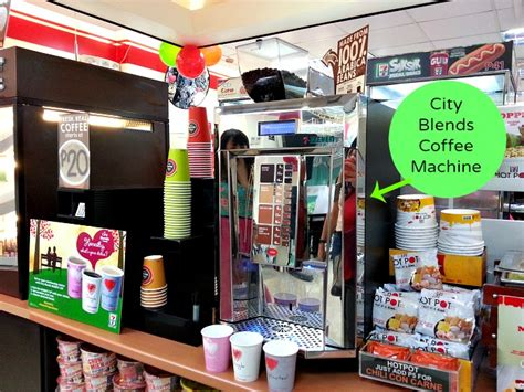 We'll grant that vending machine franchises are on the very outskirts of the restaurant sector. City Blends Coffee 7 Eleven Machine - Karen MNL