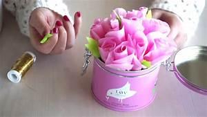 Blumen Aus Seidenpapier : kleine rosen zur dekoration diy blumen aus seidenpapier basteln youtube ~ Orissabook.com Haus und Dekorationen